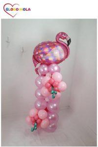 torre de globos cisne