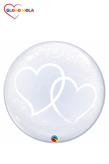 burbuja-doble-corazon