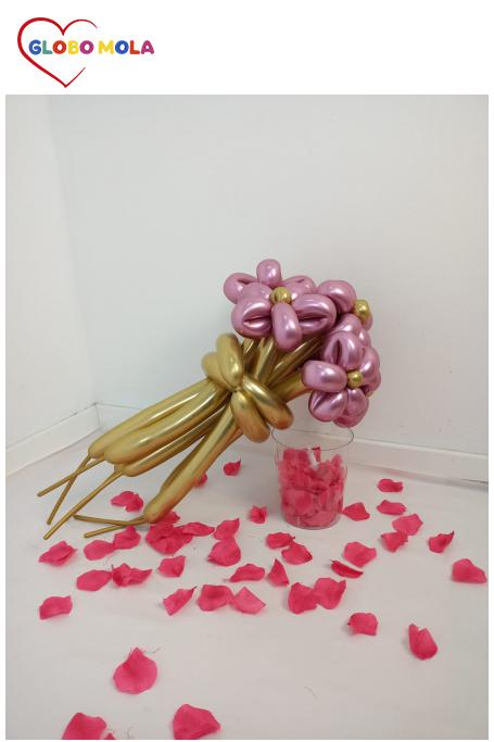 ramo globos san valentin